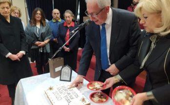Μαρούσι: O Θεόδωρος Αμπατζόγλου στην Κοπή της Πρωτοχρονιάτικης Βασιλόπιτας του Συλλόγου Αθμονέων 2020