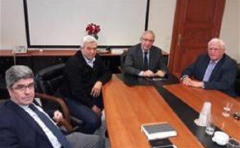 Συνάντηση του Δημάρχου Αμαρουσίου Θ. Αμπατζόγλου με τον Αντιδήμαρχο Λυκόβρυσης Πεύκης Παναγιώτη Ιωάννου 3/1/2020