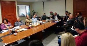 Σύσκεψη για το Νέο Επιχειρησιακό Πρόγραμμα 2019 - 2023 του Δήμου Αμαρουσίου.