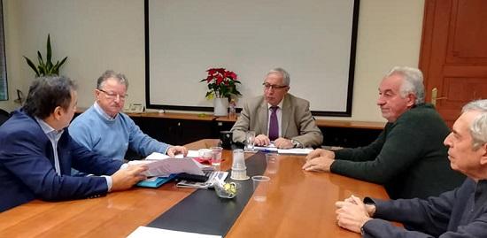 Ο Θεόδωρος Αμπατζόγλου συναντήθηκε με τον Πρόεδρο Γεώργιο Δούκα και τα μέλη του Πολιτιστικού Συλλόγου Βορρέ