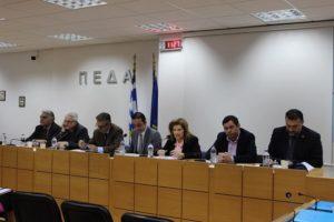 Στην συνάντηση της ΠΕΔΑ για τη δίχρονη υποχρεωτική προσχολική αγωγή συμμετείχε ο Γενικός Γραμματέας της και Δήμαρχος Λυκόβρυσης- Πεύκης Τάσος Μαυρίδης.