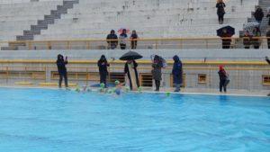 Πραγματοποιήθηκε ο Αγιασμός των υδάτων για τα Θεοφάνεια στο Δημοτικό Κολυμβητήριο Μεταμόρφωσης.