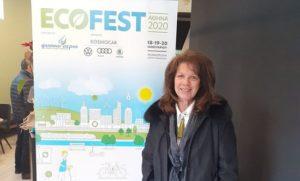 Στην ECOFEST 2020 στον πολυχώρο ΤΕΧΝΟΠΟΛΗ η Αντιδήμαρχος Πεντέλης Άντα Χάνου Μπούσουλα διοργάνωση αφιερωμένη στις Πράσινες Πόλεις , τη Βιώσιμη Ανάπτυξη και την Ηλεκτροκίνηση