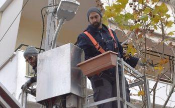 ΝΕΑ ΙΩΝΙΑ: Αντικατάσταση λαμπτήρων οδοφωτισμού στην Ν. Ιωνία