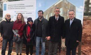 Δήμος Παπάγου Χολαργού : Τοποθετήθηκε ο θεμέλιος λίθος για τη δημιουργία του κτιρίου που θα στεγάσει το Κέντρο Προστασίας Ηλικιωμένων