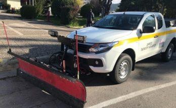 Με νέο όχημα και σε πλήρη ετοιμότητα ο Δήμος Παπάγου - Χολαργού εν όψει της επερχόμενης κακοκαιρίας