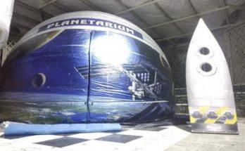 Το Φορητό Πλανητάριο Kidsdome Planetarium στον Δήμο Παπάγου - Χολαργού
