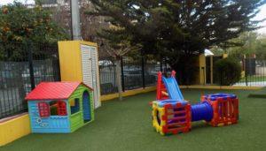 Πλήρης ανακατασκευή τριών παιδικών χαρών των Παιδικών Σταθμών του Δήμου Παπάγου - Χολαργού