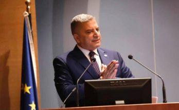 Χαιρετισμός του Περιφερειάρχη Αττικής Γ. Πατούλη στο 37ο Συνέδριο της Πανελλήνιας Ομοσπονδίας Ιδιοκτητών Ακινήτων (Π.ΟΜ.ΙΔ.Α.)