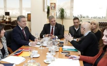 Η λειτουργία του Πάρκου Τρίτση στο επίκεντρο διευρυμένης συνάντησης στην Περιφέρεια Αττικής υπό την προεδρία του Γ. Πατούλη και με τη συμμετοχή εκπροσώπων του ΔΣ του Φορέα Διαχείρισης και των Δήμων Ιλίου και Αγίων Αναργύρων – Καματερού