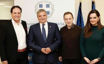 Δρομολογείται συνεργασία της Περιφέρειας Αττικής με το Εθνικό Θέατρο