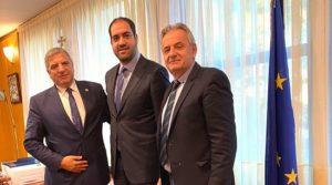 Συνάντηση Γιώργου Πατούλη με τον Υφυπουργό Μεταφορών και Υποδομών Γιάννη Α. Κεφαλογιάννη