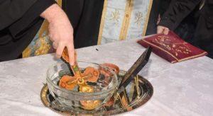 Πεύκη Λυκόβρυση : Εορτασμός των Αγίων Θεοφανείων Καθαγιασμός των υδάτων