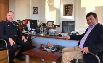  Λυκόβρυσης- Πεύκης : Τον επικεφαλής της Διεύθυνσης Αστυνομίας Βορειοανατολικής Αττικής υποδέχθηκε ο Δήμαρχος
