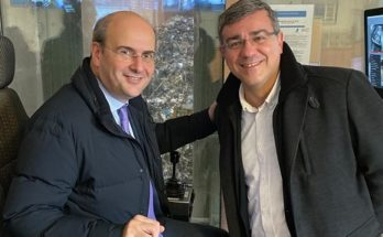 O υπουργος Περιβάλλοντος & Ενέργειας Κωστής Χατζιδάκης στο Παρίσι στο Carrieres - sous- Poissy, στη μονάδα ενεργειακής αξιοποίησης απορριμμάτων