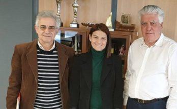 Τον Δήμαρχο Αγ. Παρασκευής Β. Ζορμπά επισκέφθηκε η Γραμ. Κοιν. Αλληλεγγύης και Ανθρωπίνων Δικαιωμάτων της Νέας Δημοκρατίας Μ. Νάτσιου, την Παρασκευή 14/2.