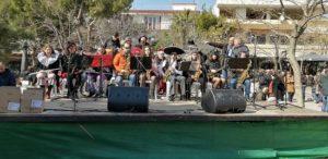 Ta Βριλήσσια γιόρτασαν το Καρναβάλι στο πλατεία Αναλήψεως Κυριακή 23/2