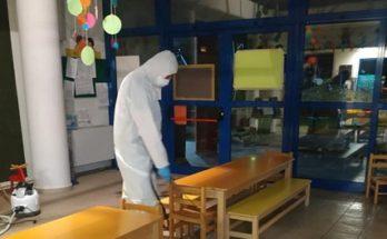 Βριλήσσια: Προληπτική απολύμανση σε όλα τα σχολεία και τα δημοτικά κτίρια του Δήμου Βριλησσίων