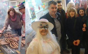 Βριλήσσια ΟΚΠΑ: Για 2η χρονιά οι Βριλησσιώτες γιόρτασαν παραδοσιακά το έθιμο του τσικνίσματος