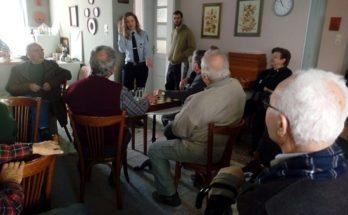 Ενημέρωση για «κακόβουλες ενέργειες και μέτρα πρόληψης και προστασίας των ατόμων τρίτης ηλικίας», σε όλα τα ΚΑΠΗ του Δήμου Χαλανδρίου, από αστυνομικούς της γειτονιάς.