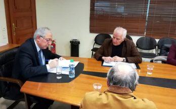 Με τον Συλλόγου Παραδείσου Αμαρουσίου συναντήθηκε ο Δήμαρχος Αμαρουσίου Θεόδωρος Αμπατζόγλου