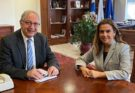 Μαρούσι : Με την Βουλευτή Βορείου Τομέα Β' Αθηνών & Αν. Κοινοβουλευτική Εκπρόσωπο ΝΔ Ζωή Ράπτη συναντήθηκε ο Θεόδωρος Αμπατζόγλου