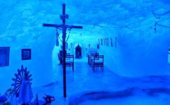 Μια από τις 8 εκκλησίες οι οποίες βρίσκονται στην Ανταρκτική είναι η εντυπωσιακή «Παναγία Των Πάγων» στο Νοτιότερο Σημείο Του Κόσμου