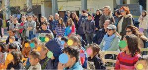 Γιορτή χαράς και αλληλεγγύης στον καταυλισμό των Κούρδων στο Λαύριο