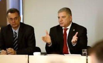 Συνεδρίαση της Εκτελεστικής Επιτροπής της ΕΝΠΕ υπό την προεδρία του Αντιπροέδρου της ΕΝΠΕ και Περιφερειάρχη Αττικής Γ. Πατούλη με τα μέλη της Επιτροπής Προετοιμασίας του Νόμου για τη Μεταρρύθμιση και Ανασυγκρότηση της Τοπικής Αυτοδιοίκησης και του Κράτους
