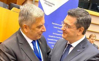 Ομόφωνα πρόεδρος της Ευρωπαϊκής Επιτροπής των Περιφερειών ο Τζιτζικώστας