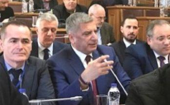 Παρέμβαση του Αντιπροέδρου της ΕΝΠΕ και Περιφερειάρχη Αττικής Γ. Πατούλη στη συζήτηση για το υπό διαβούλευση νομοσχέδιο του ΥΠΕΣ για τη Στρατηγική Αναπτυξιακή Προοπτική των ΟΤΑ, στην αρμόδια επιτροπή της Βουλής