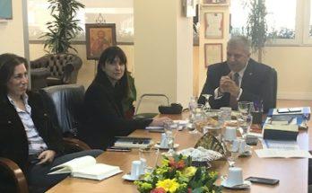 Φιλόδοξη ατζέντα παρουσίασε η Δήμαρχος Πεντέλης Δήμητρα Κεχαγιά σε συνάντηση εργασίας με τον Περιφερειάρχη Αττικής Γιώργο Πατούλη