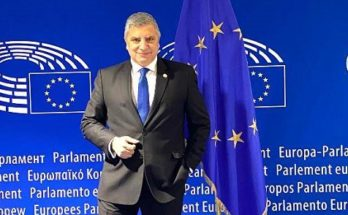 Παρέμβαση του Περιφερειάρχη Αττικής και νέου Αντιπροέδρου της Επιτροπής των Περιφερειών Γ. Πατούλη στη Σύνοδο της Ολομέλειας της Ευρωπαϊκής Επιτροπής των Περιφερειών (ΕτΠ) 2020-2025, στο Ευρωπαϊκό Κοινοβούλιο