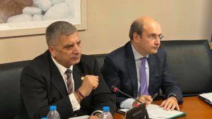 Παρέμβαση στη συνεδρίαση του ΔΣ της ΕΝΠΕ, παρουσία του υπ. Περιβάλλοντος και Ενέργειας Κ. Χατζηδάκη