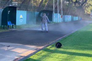 Τάσος Μαυρίδης :Συνεχίζονται οι εργασίες ανακατασκευής του γηπέδου Πεύκης