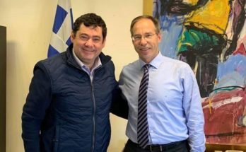 Πεύκη-Λυκόβρυση : Με τον Γενικό Γραμματέα Αθλητισμού Γιώργο Μαυρωτά συναντήθηκε ο Δήμαρχος