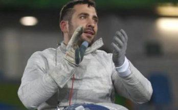 Ασημένιο μετάλλιο ο Τριανταφύλλου στο Παγκόσμιο Κύπελλο ξιφασκίας με αμαξίδιο του Έγκερ
