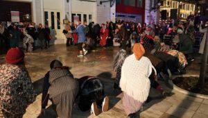 Αποκριές στο Δήμο Χαλανδρίου …Το τρίψαν το πιπέρι στην Κεντρική Πλατεία Χαλανδρίου