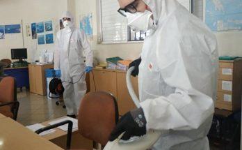 Βριλησσίων : Επαναληπτική απολύμανση στις Υπηρεσίες που λειτουργούν στον Δήμο