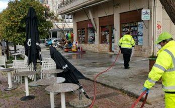 Βριλήσσια: Συνεχίζεται στο Δήμο ο Ψεκασμός και η απολύμανση, με καθαρισμούς των κάδων απορριμμάτων, των κοινόχρηστων χώρων, των εκκλησιών και των δρόμων