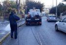 Ηράκλειο Αττικής: Εργασίες καθαριότητας και απολύμανσης στους ανοικτούς κοινόχρηστους χώρους, δρόμους τους κάδους απορριμμάτων και ανακύκλωσης