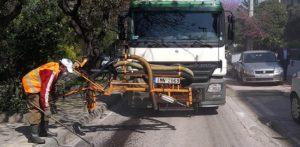 Μαρούσι :Εργασίες αποκατάστασης οδοστρωμάτων στον Παράδεισο και το Πολύδροσο Αμαρουσίου με καινοτόμες μεθόδους