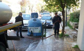 Συνεχείς οι καθαρισμοί και οι απολυμάνσεις πολυσύχναστων κοινόχρηστων χώρων από τα συνεργεία του Δήμου Αμαρουσίου