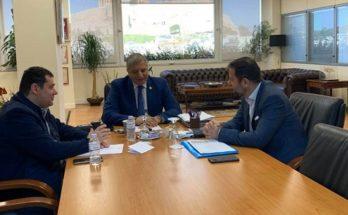 Με τον Περιφερειάρχη Αττικής Γιώργο Πατούλη συναντήθηκε ο Δήμαρχος Λυκόβρυσης – Πεύκης Τάσο Μαυρίδης.