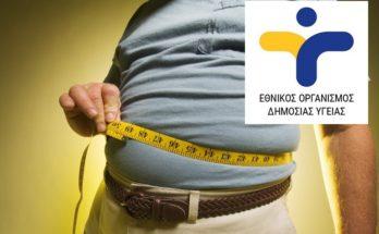 4 Μαρτίου: Παγκόσμια Ημέρα κατά της Παχυσαρκίας μήνυμα του Εθνικού Οργανισμού Δημόσιας Υγείας