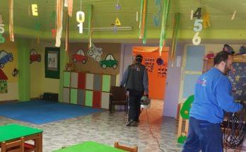 Πεντέλη: Σε προληπτική απολύμανση στους παιδικούς σταθμούς λόγο του Κορωνοϊού προχώρησε ο Δήμος