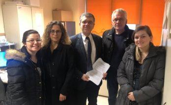 Περιφέρεια Αττικής : «Διάνοιξη οδών στην περιοχή Πευκάκια Αγίας Παρασκευής» Επιτροπή Παρακολούθηση της Υλοποίησης της Προγραμματικής Σύμβασης
