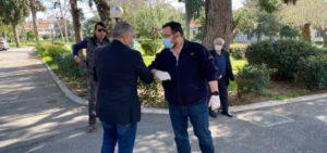 Περιφέρεια Αττικής : 10.000 γάντια, 3.000 μάσκες προστασίας και πάνω από 650 συσκευασίες αντισηπτικού υλικού παραδόθηκαν σήμερα στο Γηροκομείο Αθηνών για την προστασίας του νοσηλευτικού προσωπικού και των ηλικιωμένων