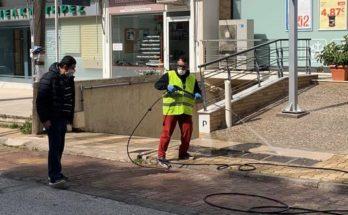 Λυκόβρυση Πεύκη: Σε κοινόχρηστους χώρους , εκκλησίες , δρόμους και κάδους απορριμμάτων του Δήμου συνεχίζεται το πρόγραμμα απολύμανσης