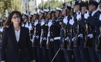 Ορκίστηκε η νέα Πρόεδρος της Δημοκρατίας η Κατερίνα Σακελλαροπούλου